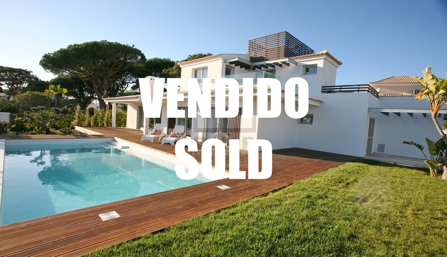 acheter centre villa moderne Vilamoura Algarve Portugal