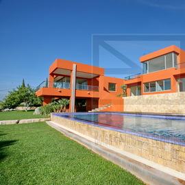 modernes villa vues algarve